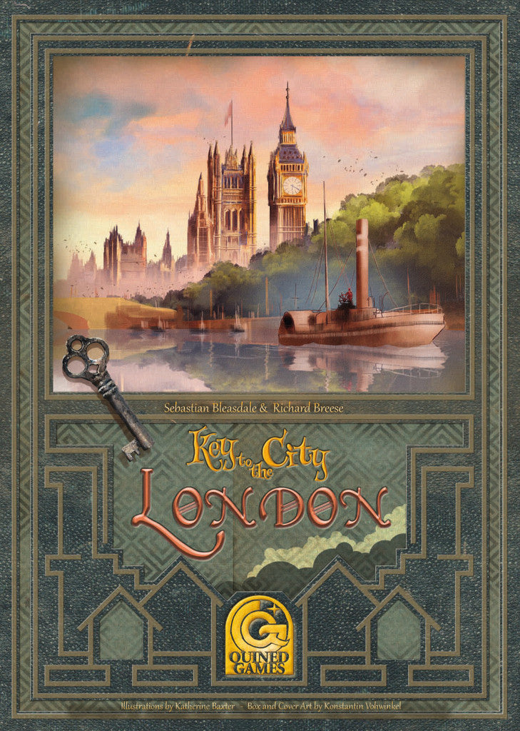 Key to the City - London (Quined Games Edition)