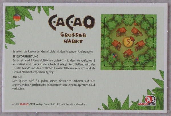 Cacao: Big Market (Import)