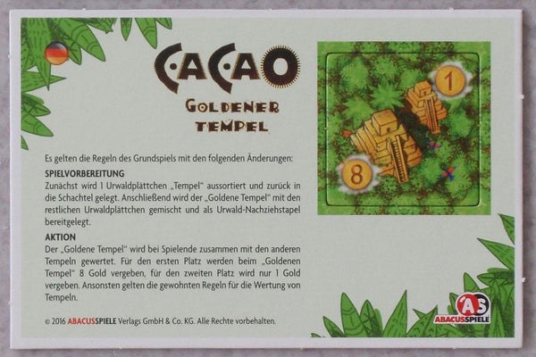 Cacao: Golden Temple (Import)