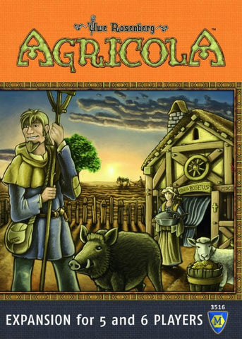 Agricola (Mayfair Revised Edition): Expansion for 5 and 6 Players