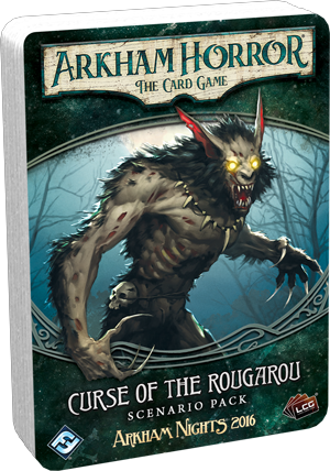 Arkham Horror: The Card Game - Curse of the Rougarou - Scenario Pack *PRE-ORDER*