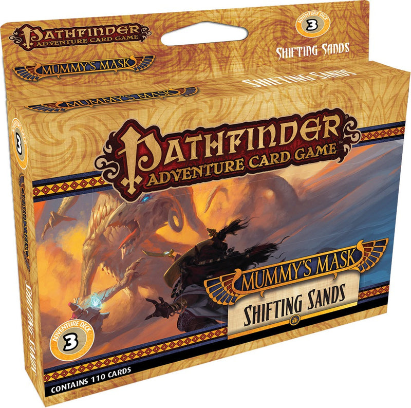 Pathfinder Adventure Card Game: Mummy's Mask - Adventure Deck 3: Shifting Sands