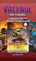 Valeria: Card Kingdoms – Expansion Pack #05: Monster Reinforcements