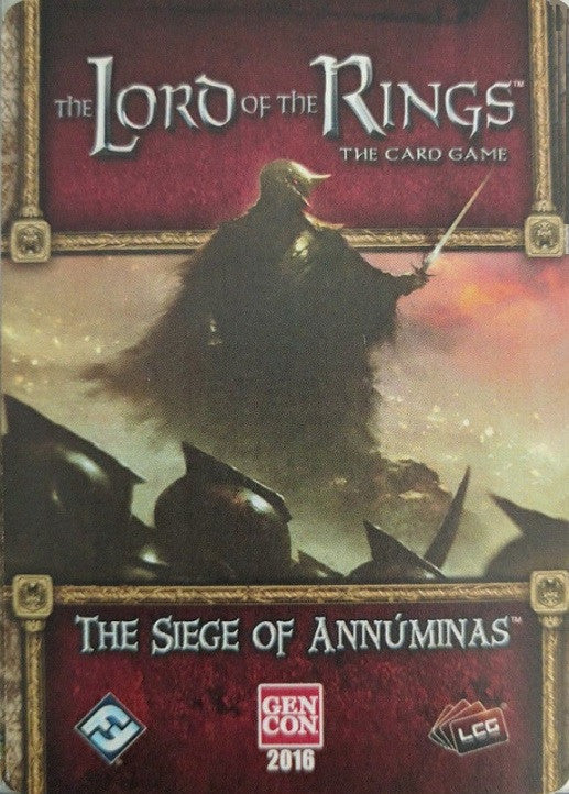 The Lord of the Rings: The Card Game - The Siege of Annuminas