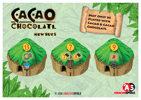 Cacao: Chocolatl - New Huts (Import)