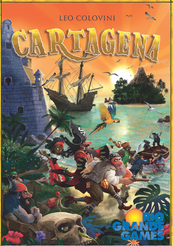 Cartagena (Rio Grande Games New Edition)