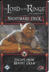 The Lord of the Rings: The Card Game – Escape From Mount Gram Nightmare Deck