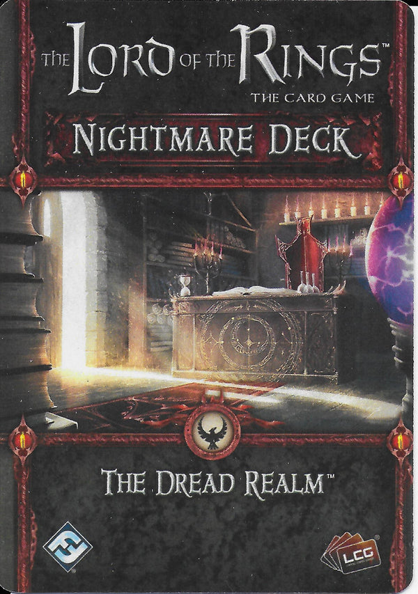 The Lord of the Rings: The Card Game - The Dread Realm Nightmare Deck