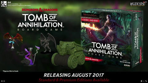 Dungeons & Dragons: Tomb of Annihilation Board Game (Standard Edition)