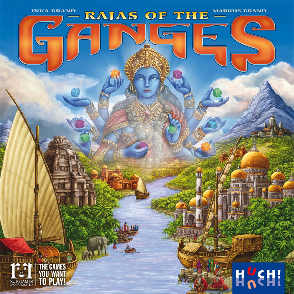 Buy Rajas of the Ganges – BoardGameBliss Inc  – Canada's
