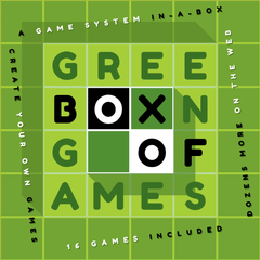Green Box of Games *PRE-ORDER* (ETA Q1 2019)