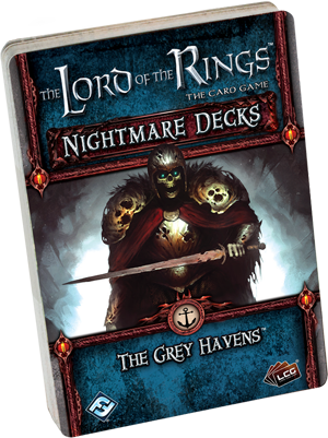 The Lord of the Rings: The Card Game - Nightmare Deck: The Grey Havens