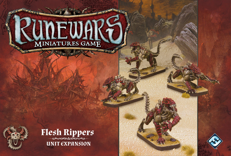 Runewars Miniatures Game: Flesh Rippers - Unit Expansion
