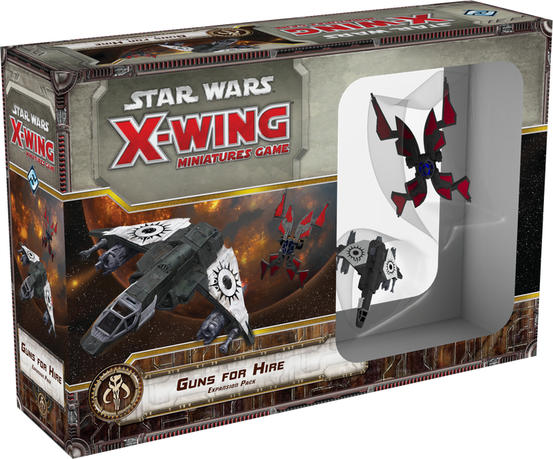 Star Wars: X-Wing Miniatures Game - Guns for Hire Expansion Pack