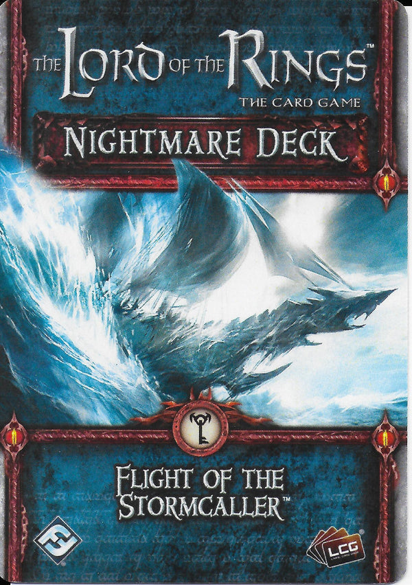 The Lord of the Rings: The Card Game - Nightmare Deck: Flight of the Stormcaller