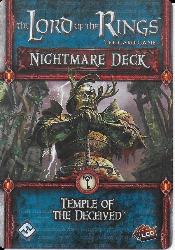 The Lord of the Rings: The Card Game - Nightmare Deck: Temple of the Deceived