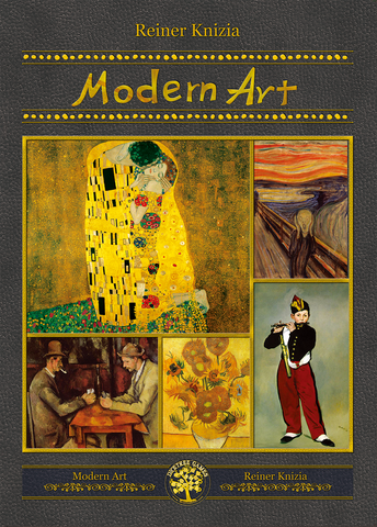 Modern Art (DiceTree Games Edition) (Korean Import)