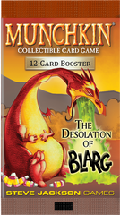 Munchkin Collectible Card Game: The Desolation of Blarg - Booster Pack