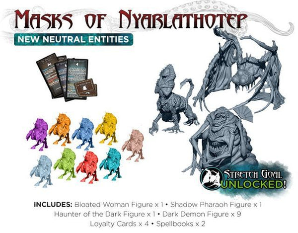 Cthulhu Wars: Masks of Nyarlathotep