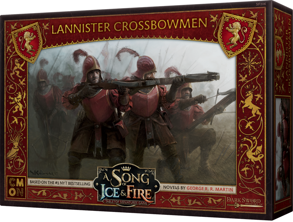 Buy A Song of Ice & Fire: Tabletop Miniatures Game - Lannister