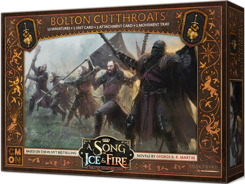 A Song of Ice & Fire: Tabletop Miniatures Game – Bolton Cutthroats