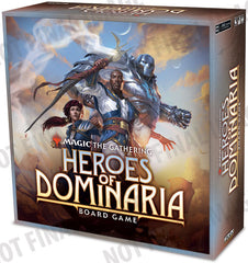 Magic: The Gathering – Heroes of Dominaria Board Game (Premium Edition)