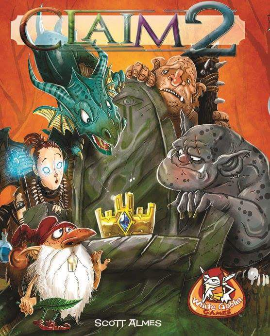 Claim 2 (Deep Water Games Boxed Edition)