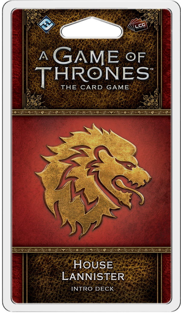 A Game of Thrones: The Card Game (Second Edition) - House Lannister Intro Deck
