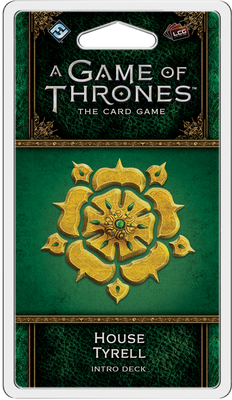 A Game of Thrones: The Card Game (Second Edition) - House Tyrell Intro Deck