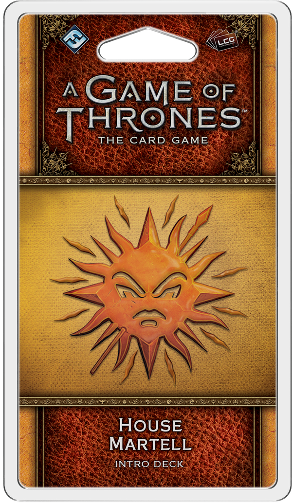 A Game of Thrones: The Card Game (Second Edition) - House Martell Intro Deck