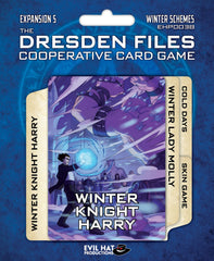 The Dresden Files Cooperative Card Game: Winter Schemes