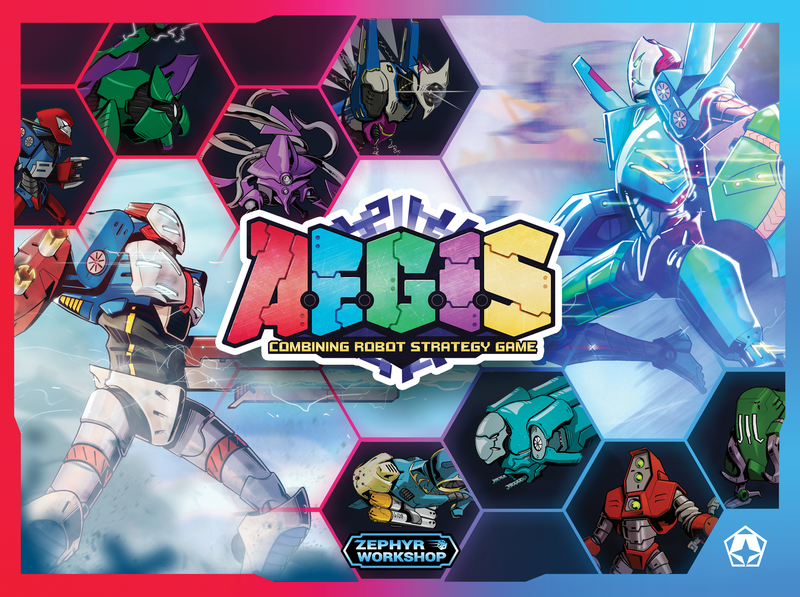A.E.G.I.S.: Combining Robot Strategy Game