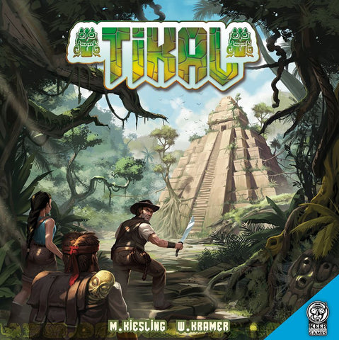 Tikal (Dutch Import, English Rules Sheet Included)