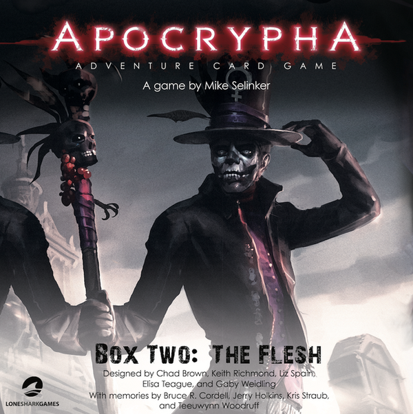 Apocrypha Adventure Card Game: Box Two - The Flesh