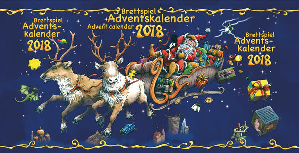 Brettspiel Adventskalender 2018 (Without Box)