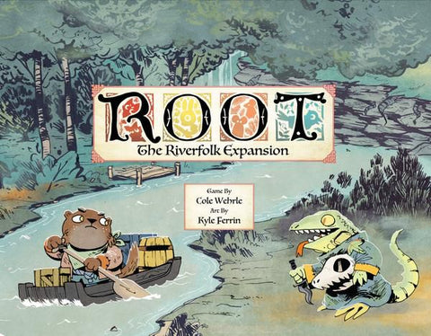 Root: Riverfolk Expansion *PRE-ORDER* (ETA Dec 2018)