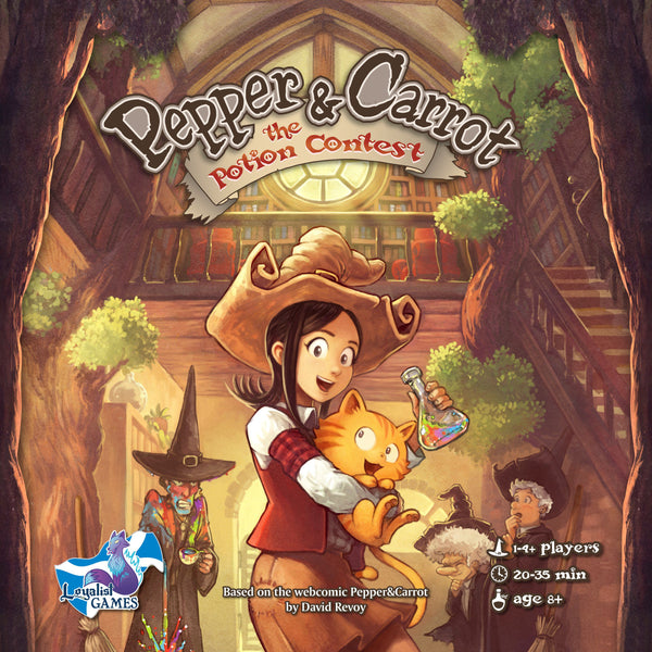 Pepper & Carrot: The Potion Contest - Deluxe Edition (German Import)