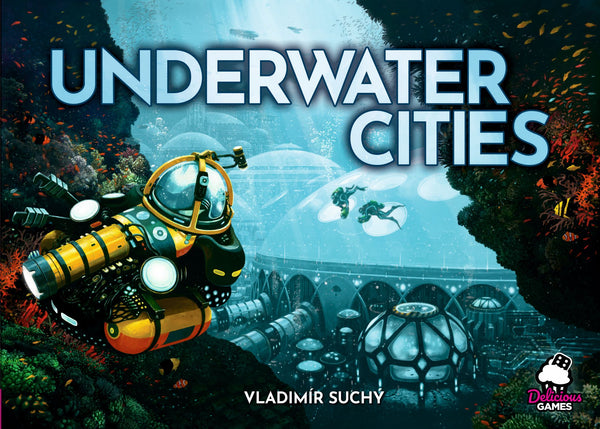 Underwater Cities (Import, Delicious Games Edition) (Includes Biodome Promo)