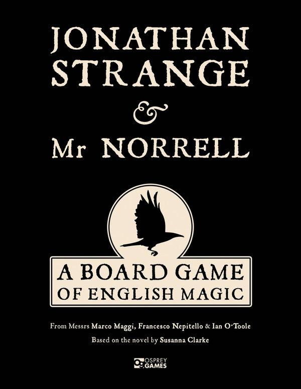 Jonathan Strange & Mr Norrell: A Board Game of English Magic