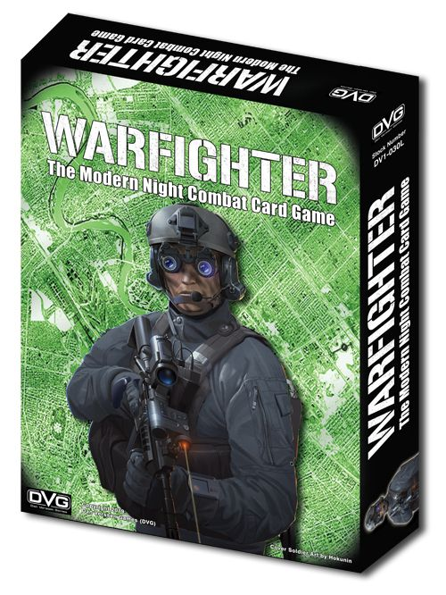 Warfighter: The Modern Night Combat Card Game – Shadow War