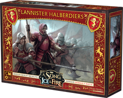 A Song of Ice & Fire: Tabletop Miniatures Game - Lannister Haldberdiers
