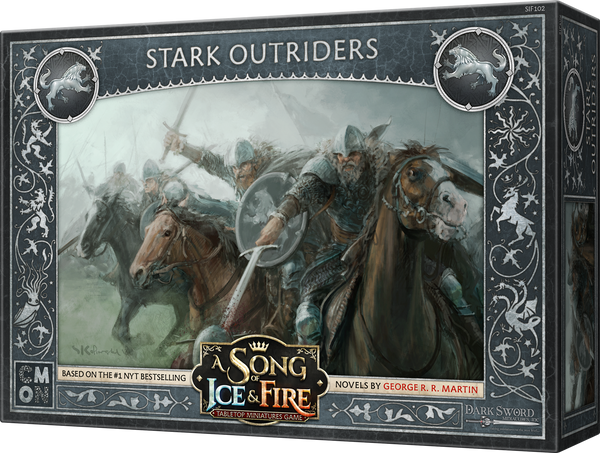 A Song of Ice & Fire: Tabletop Miniatures Game - Stark Outriders