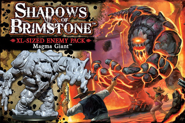 Shadows of Brimstone: Magma Giant XL-Sized Enemy Pack