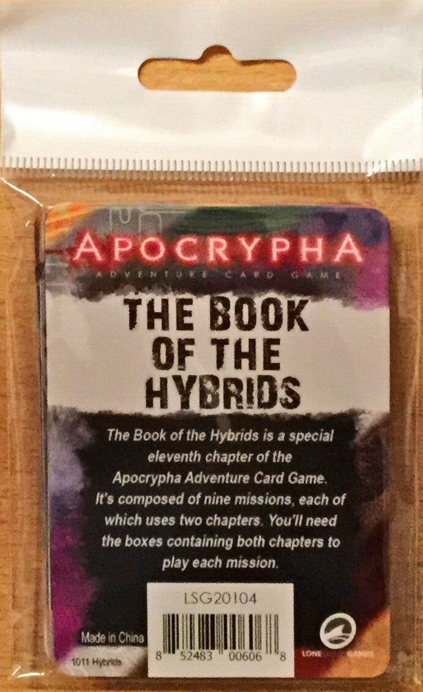 Apocrypha Adventure Card Game: The Book of the Hybrids