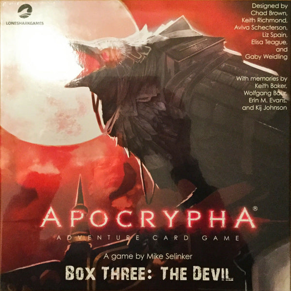 Apocrypha Adventure Card Game: Box Three - The Devil