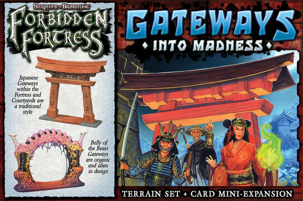 Shadows of Brimstone: Forbidden Fortress – Gateways Into Madness *PRE-ORDER*