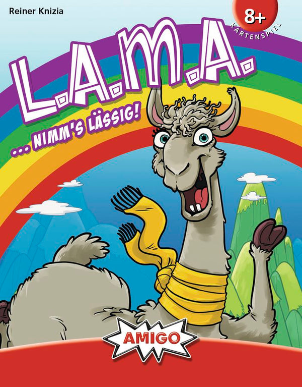LAMA (English Edition)