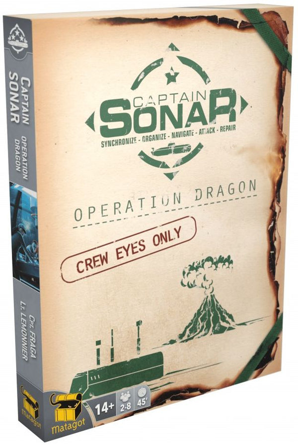 Captain Sonar: Operation Dragon