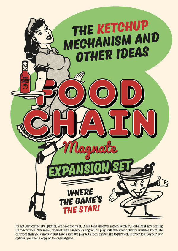 Food Chain Magnate: The Ketchup Mechanism & Other Ideas *PRE-ORDER* (ETA Nov 2019)