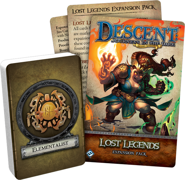 Descent: Journeys in the Dark (Second Edition) - Lost Legends Expansion Pack